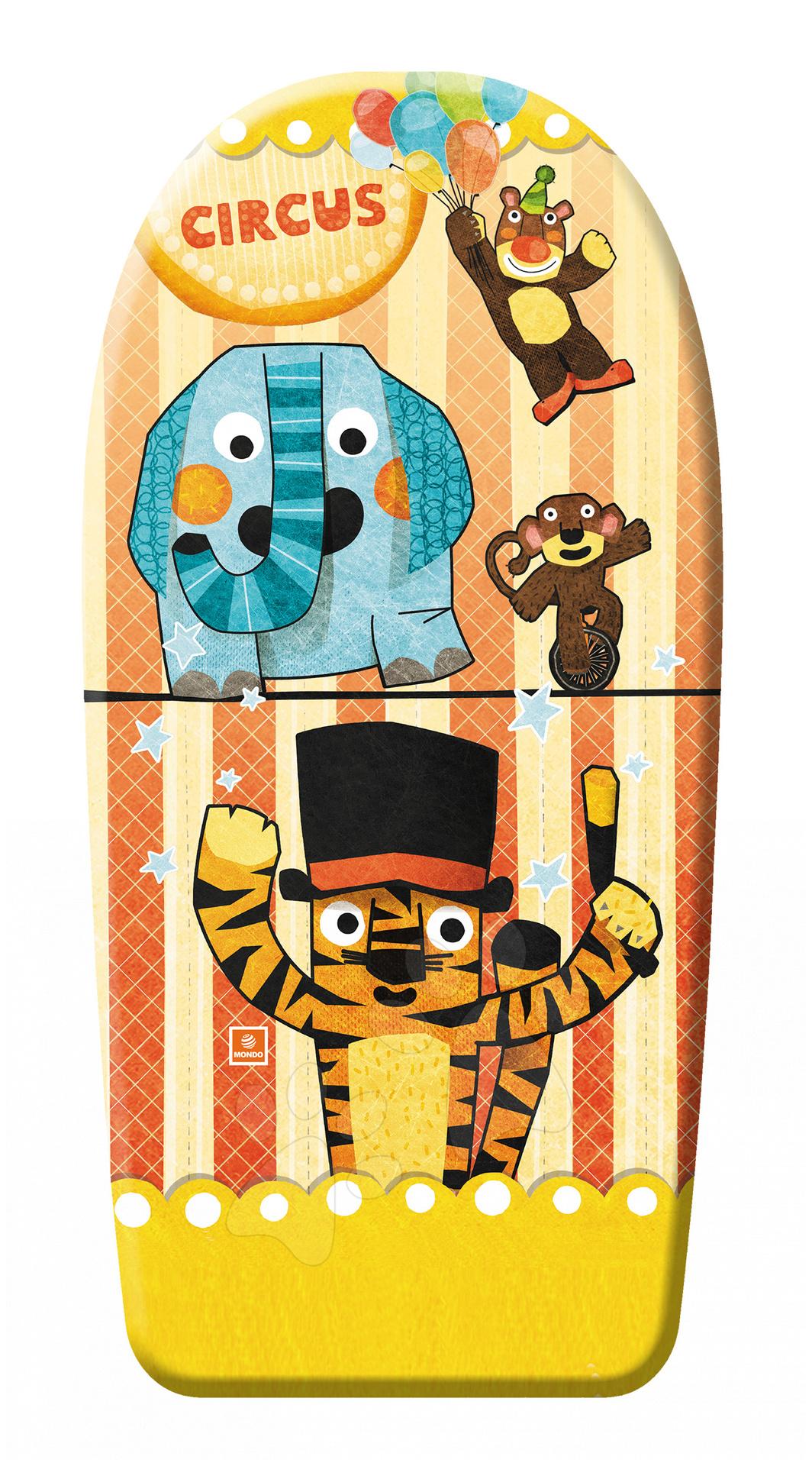 Staré položky - Penová doska na plávanie cirkus, lunapark, oceán Mondo 84 cm