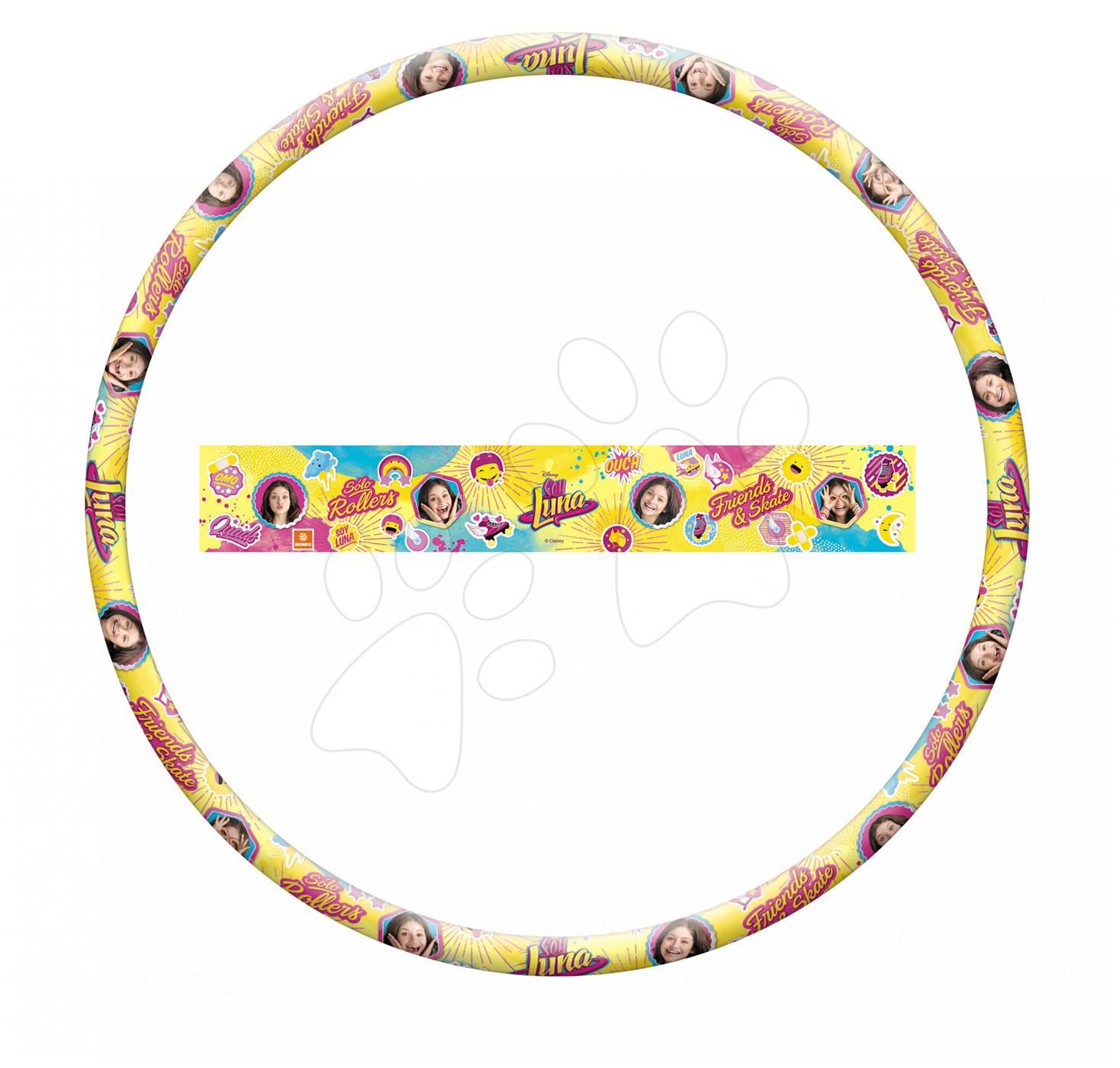 Kruh na cvičení Soy Luna Hula Hoop Mondo průměr 80 cm