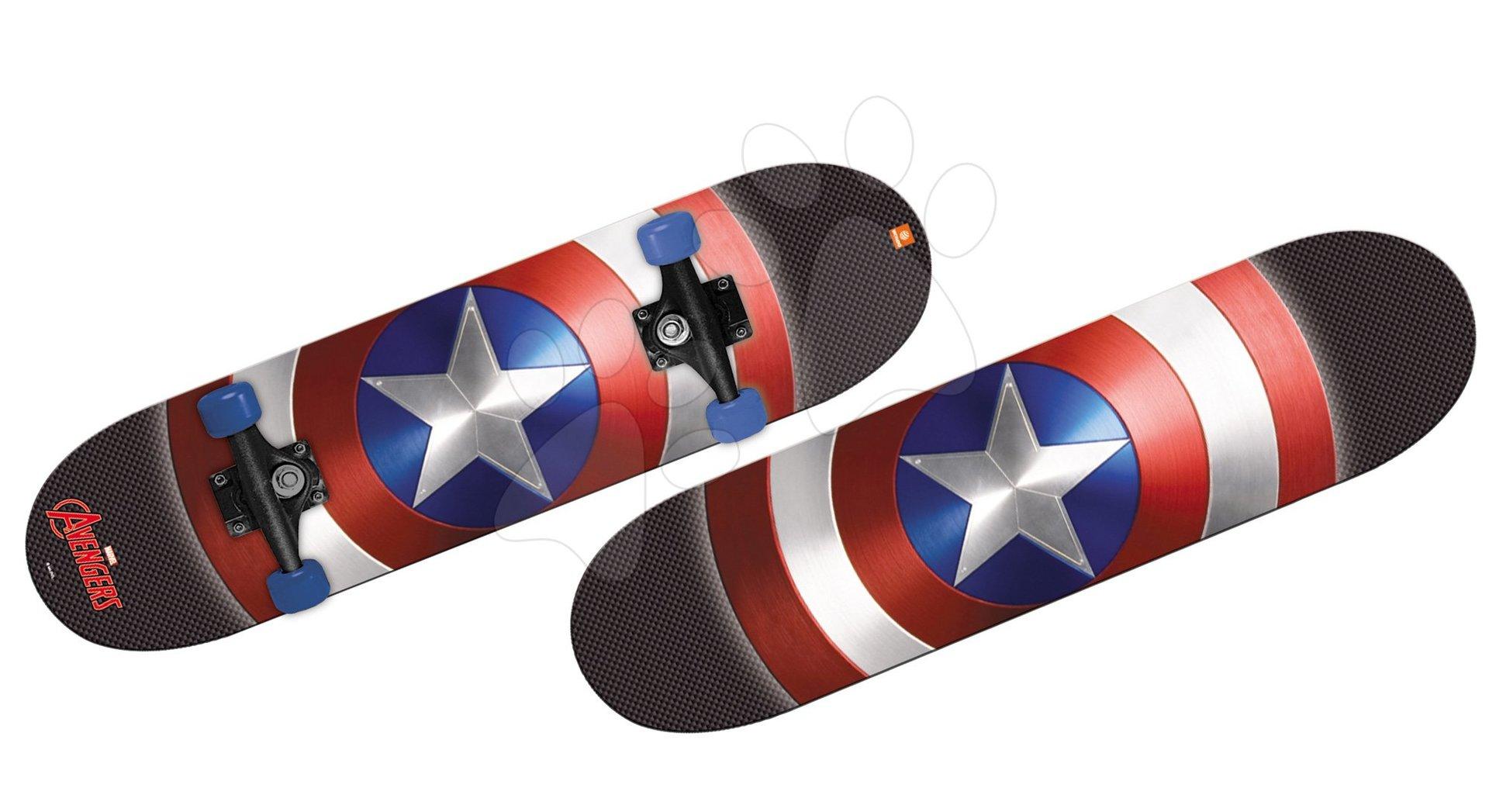 Dječji skateboardovi  - MONDO 28099 skateboard Avengers 80*20 cm, 2-stranná potlač, 9 Layers, PVC 50*36 mm, PP 5