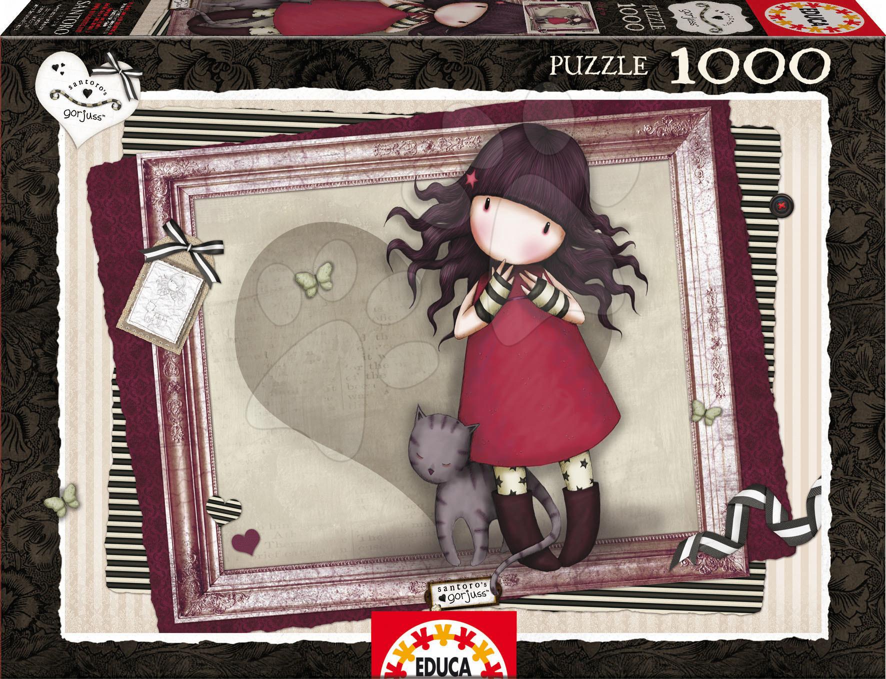 Puzzle Santoro Gorjuss Purfect Love Educa 1000 dílů od 12 let