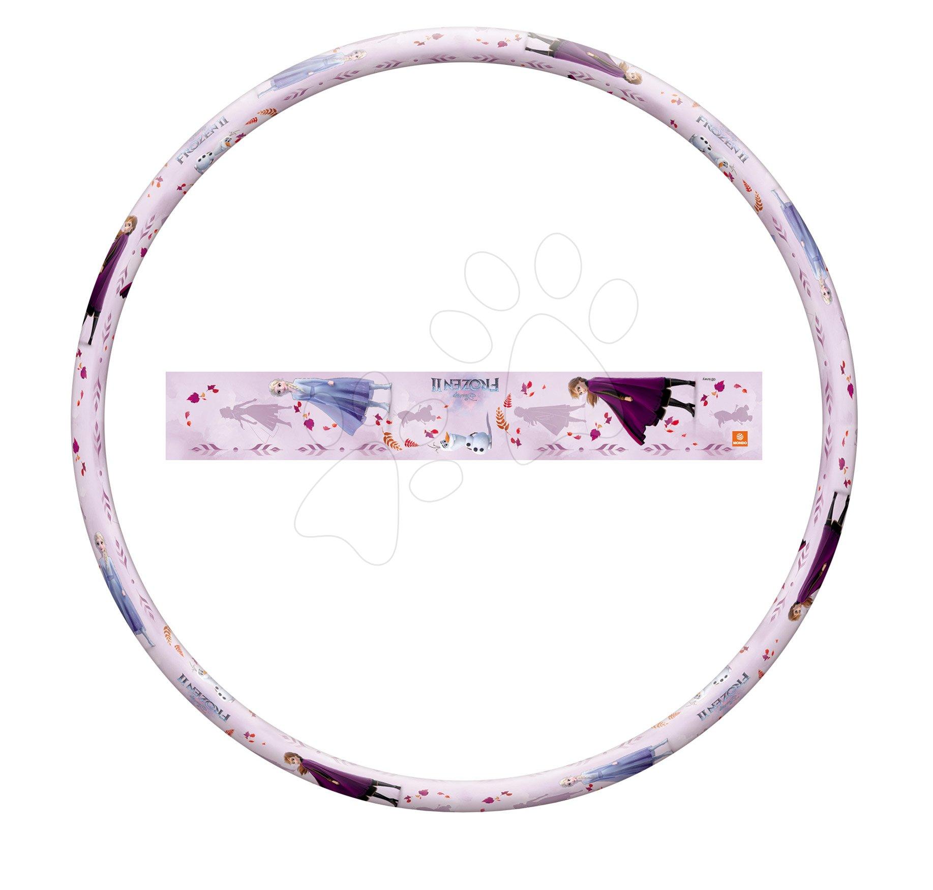 Kruh na cvičení Frozen Hula Hoop Mondo průměr 80 cm