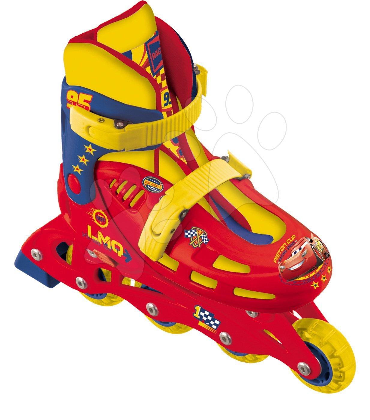 Dětské kolečkové brusle - Kolečkové brusle Auta Mondo inline velikost 33-36 od 5 let
