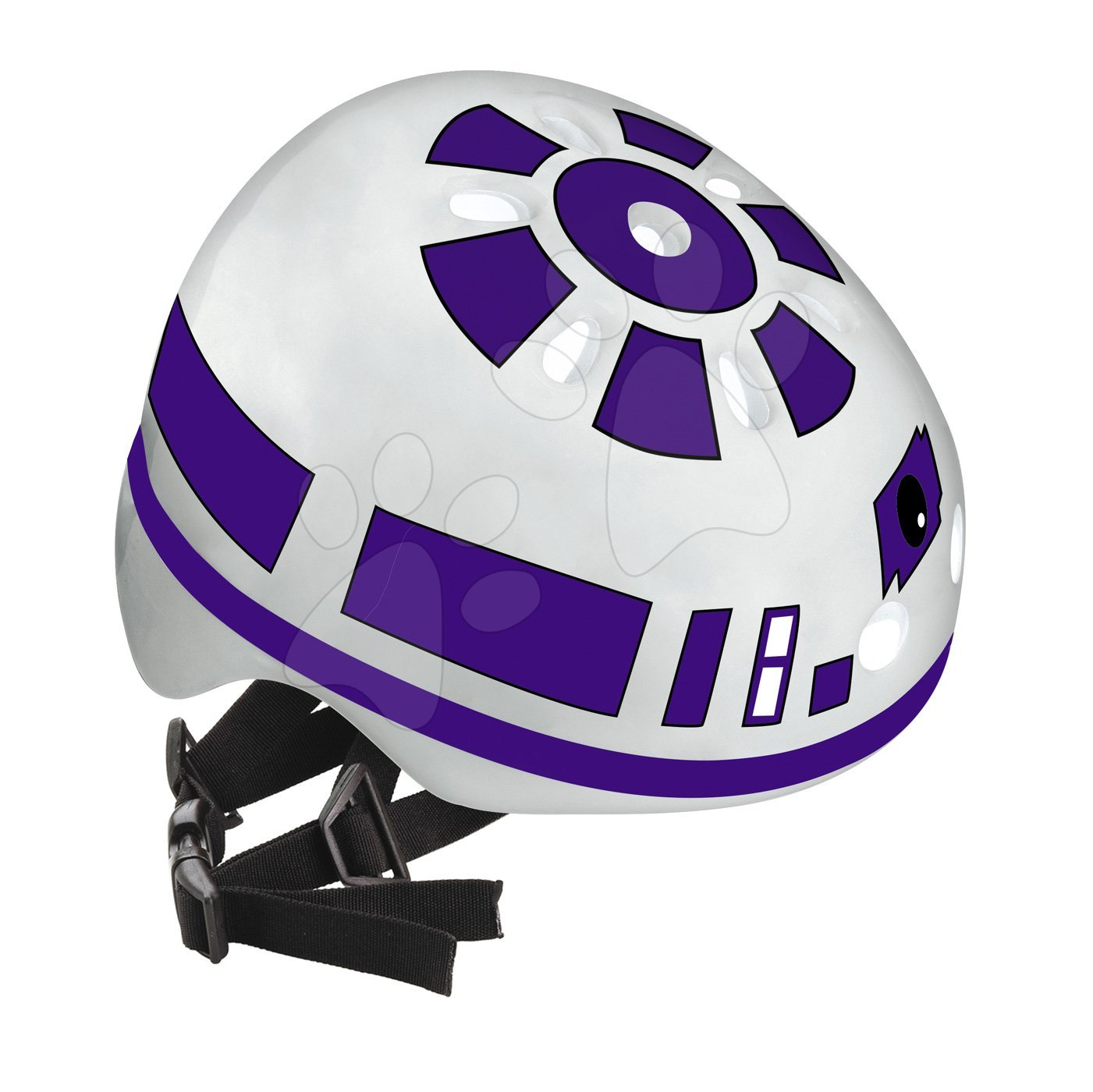 Detské prilby - Prilba Star Wars Mondo veľkosť 52-56 bielo-čierna