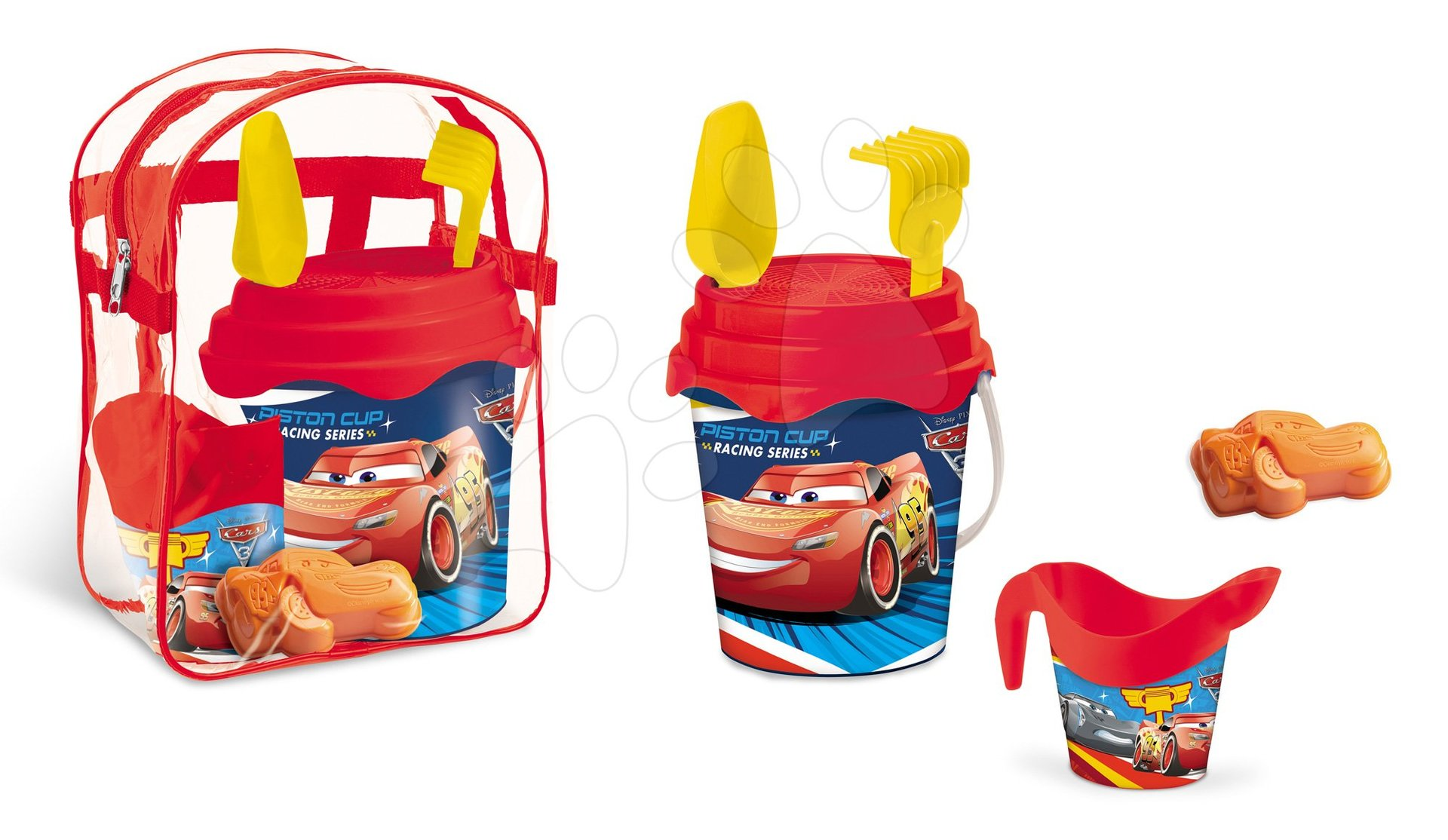 Batoh Mondo se 17 cm kbelík setem Cars