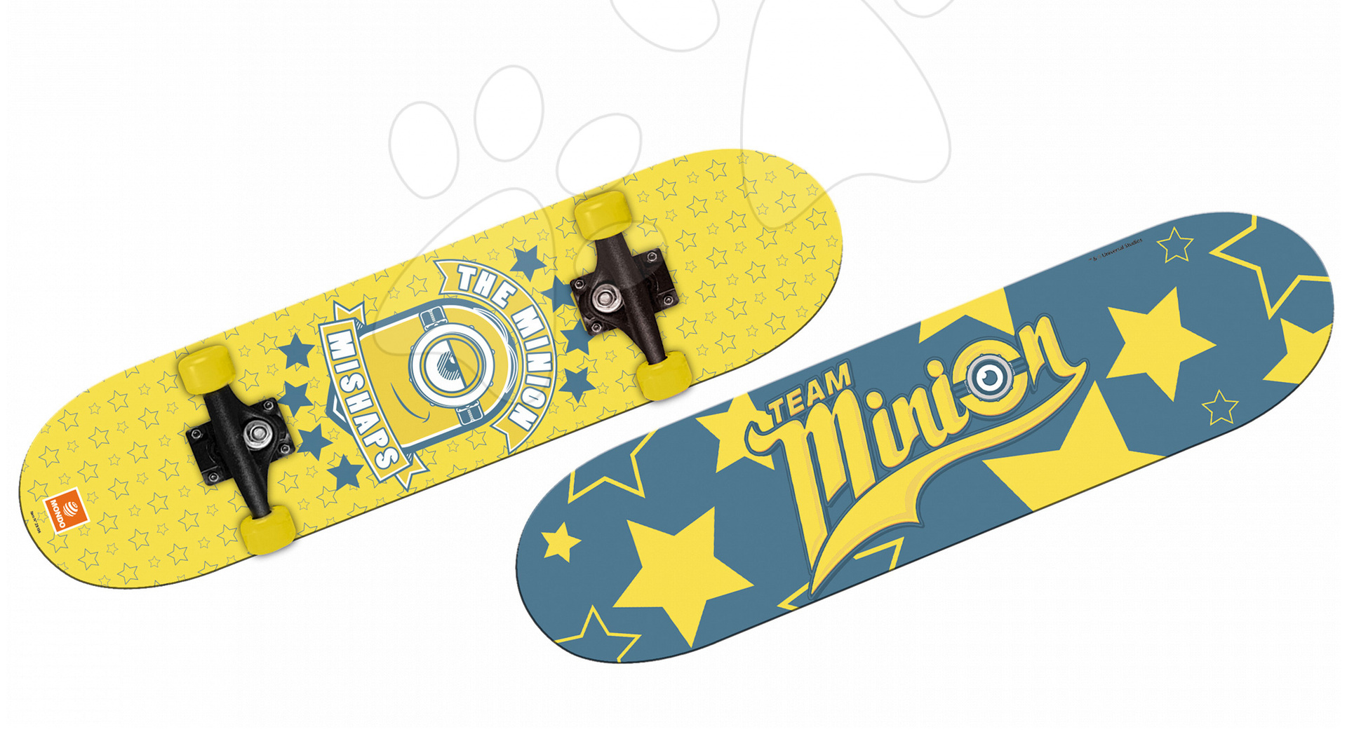 Detské skateboardy - Skateboard Mimoni Mondo dĺžka 80 cm