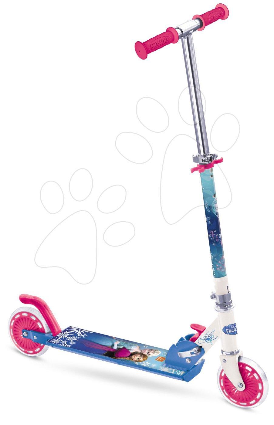 Kolobežky dvojkolesové - Kolobežka Frozen Mondo ružovo-modrá