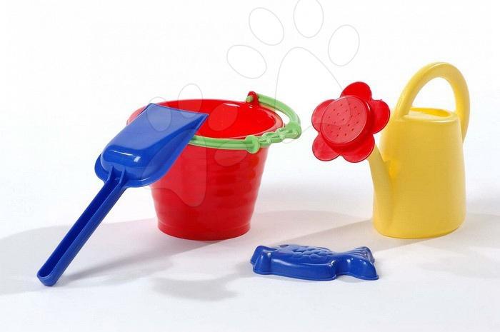 Kbelíky do písku - Mini kbelík s konvičkou set