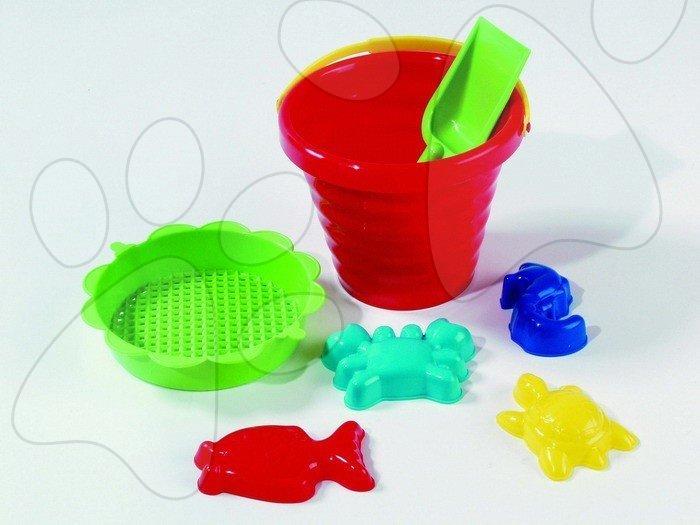 Kbelíky do písku - Set malý kbelík se sítkem Dohány
