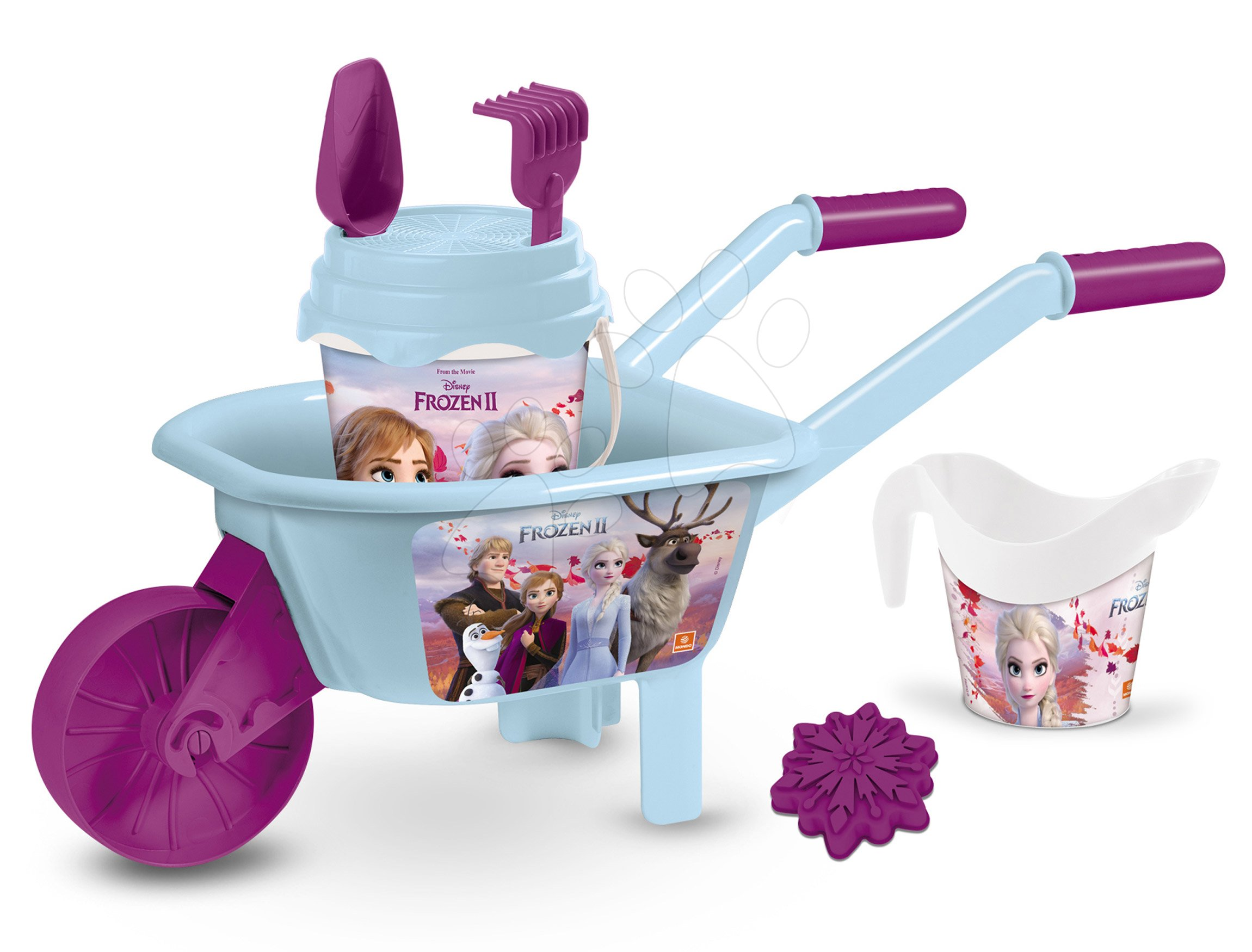 Kolečko s kbelík setem Frozen Mondo #VALUE! od 18 měsíců