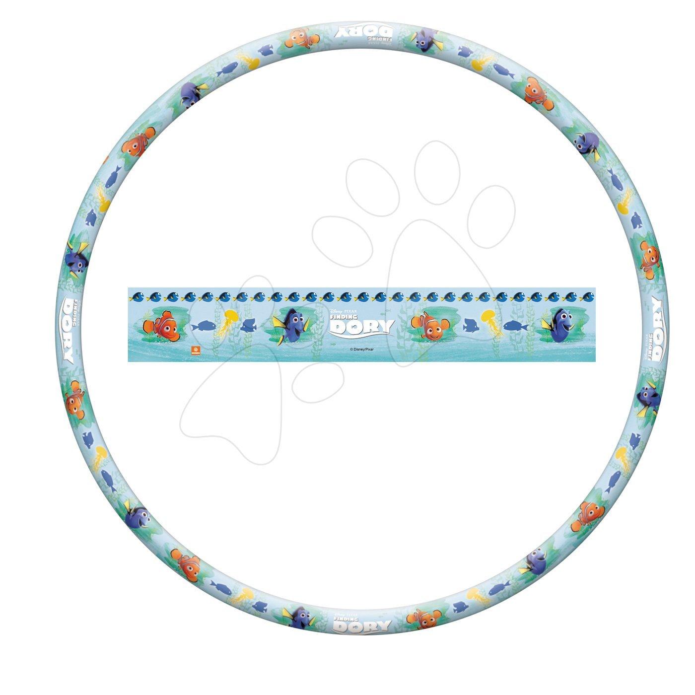 Športové hry pre najmenších - Kruh na cvičenie Hľadá sa Dory Hula Hoop Mondo priemer 80 cm