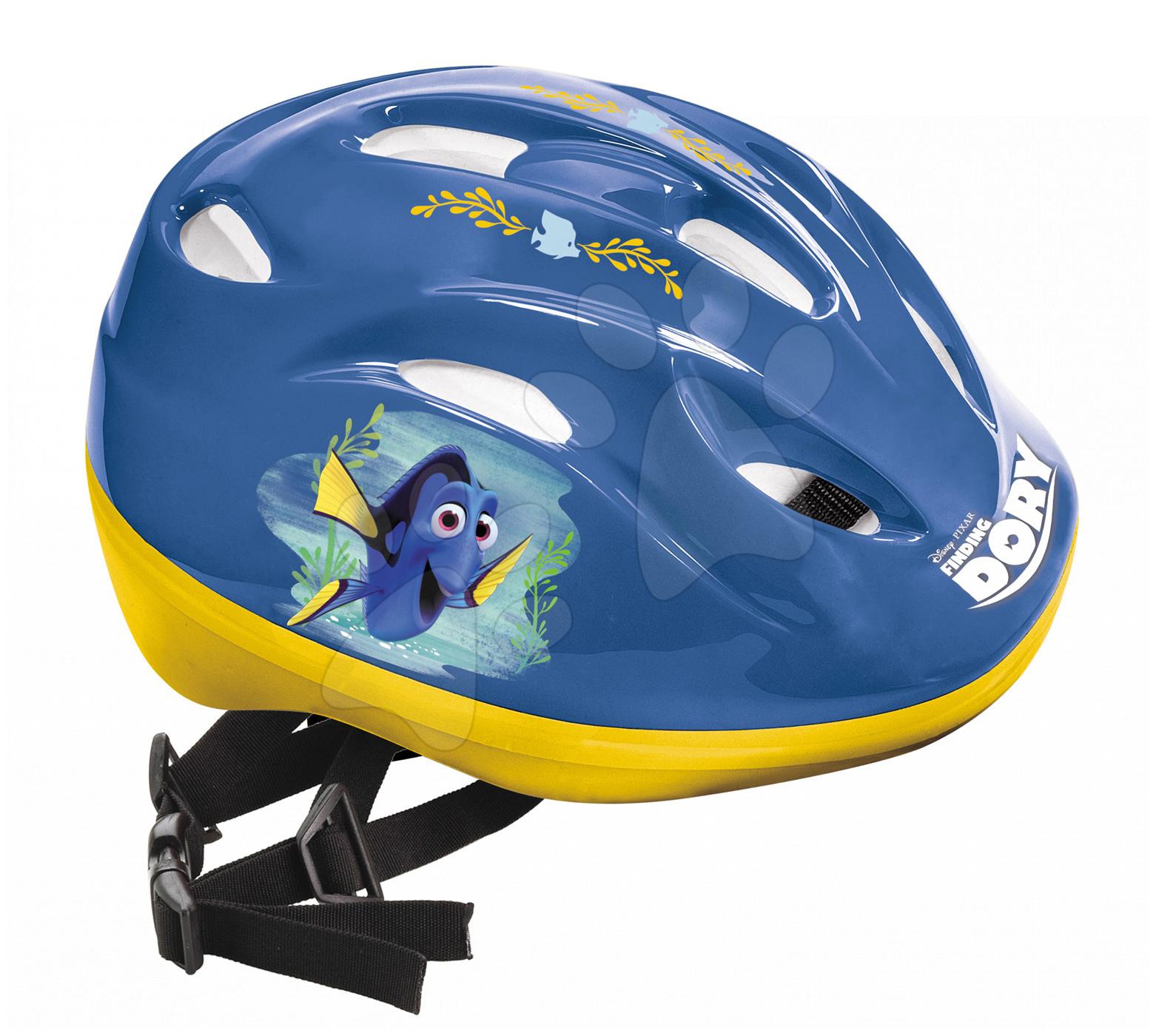 Detské prilby - Prilba Hľadá sa Dory Mondo veľkosť 52-56 modro-žltá