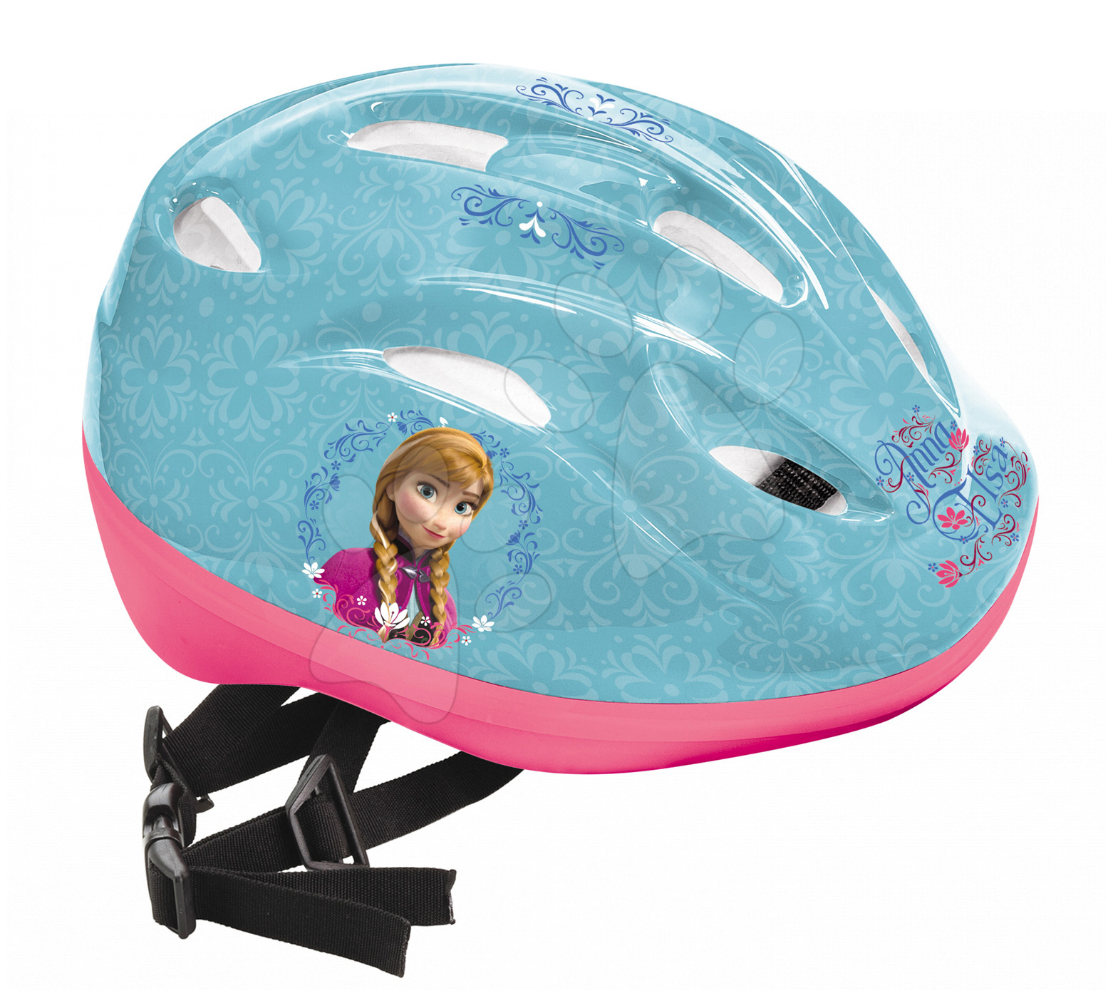 Přilba Frozen Mondo velikost 52-56 tyrkysově-růžová