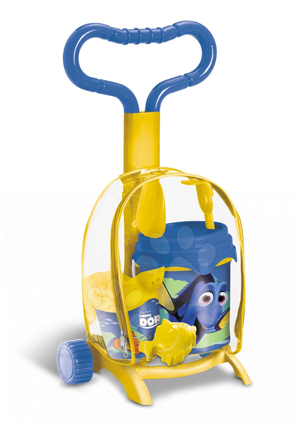 Vozík s kbelík setem Hledá se Dory Mondo (výška 59 cm) od 18 měsíců