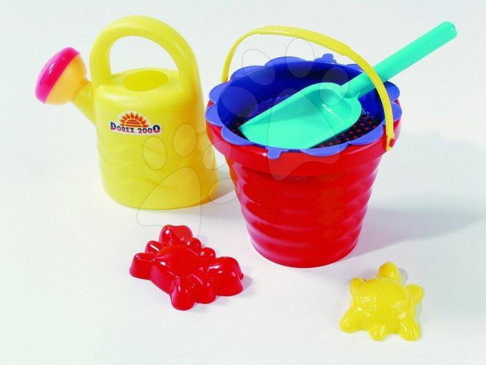 Kbelíky do písku - Mini kbelík s konvičkou set Dohány