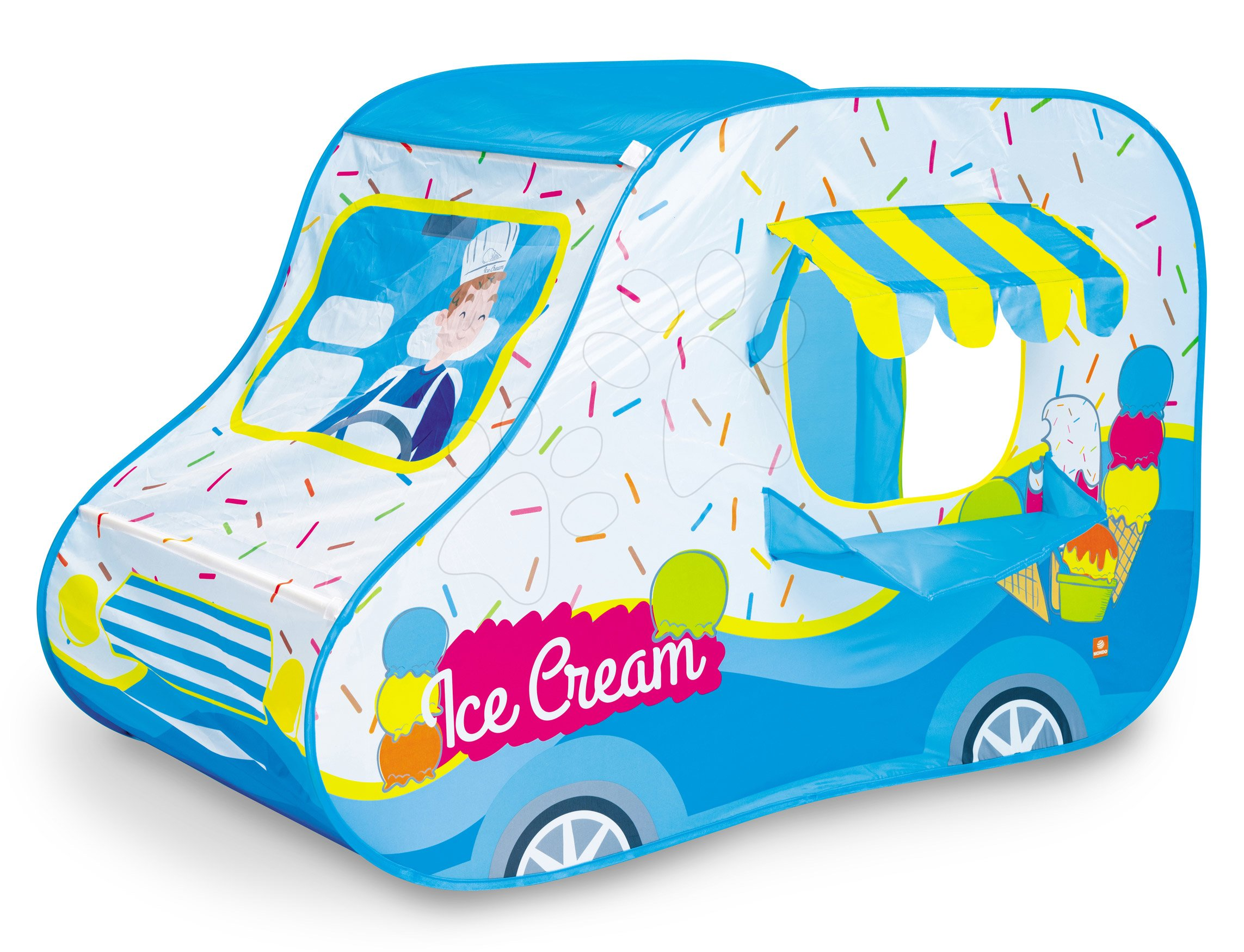 Stan auto zmrzlinárna Ice-cream van tent Mondo tyrkysový