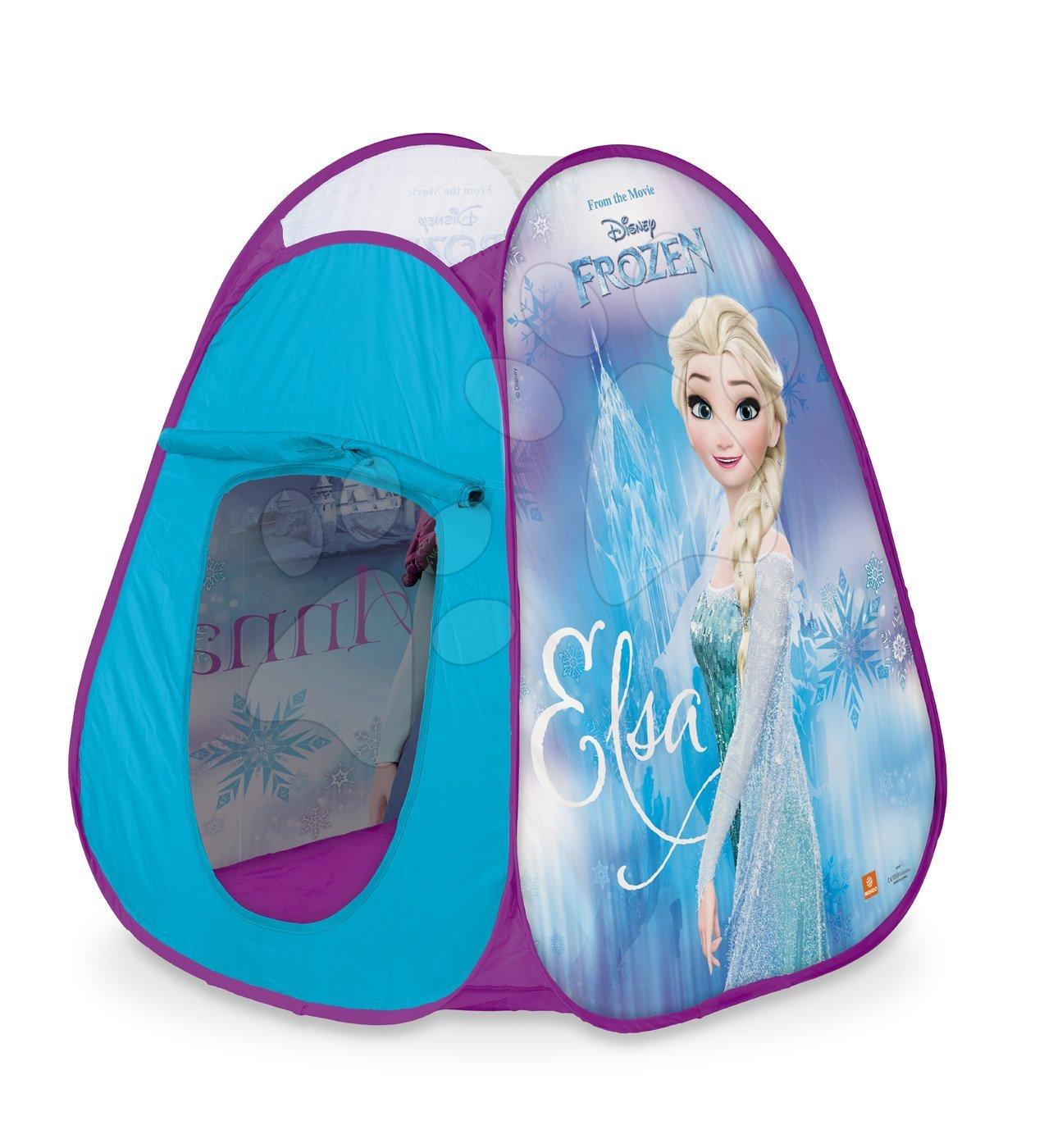 Mondo stan pre deti Frozen Pop Up s fialovou okrúhlou taškou 28391