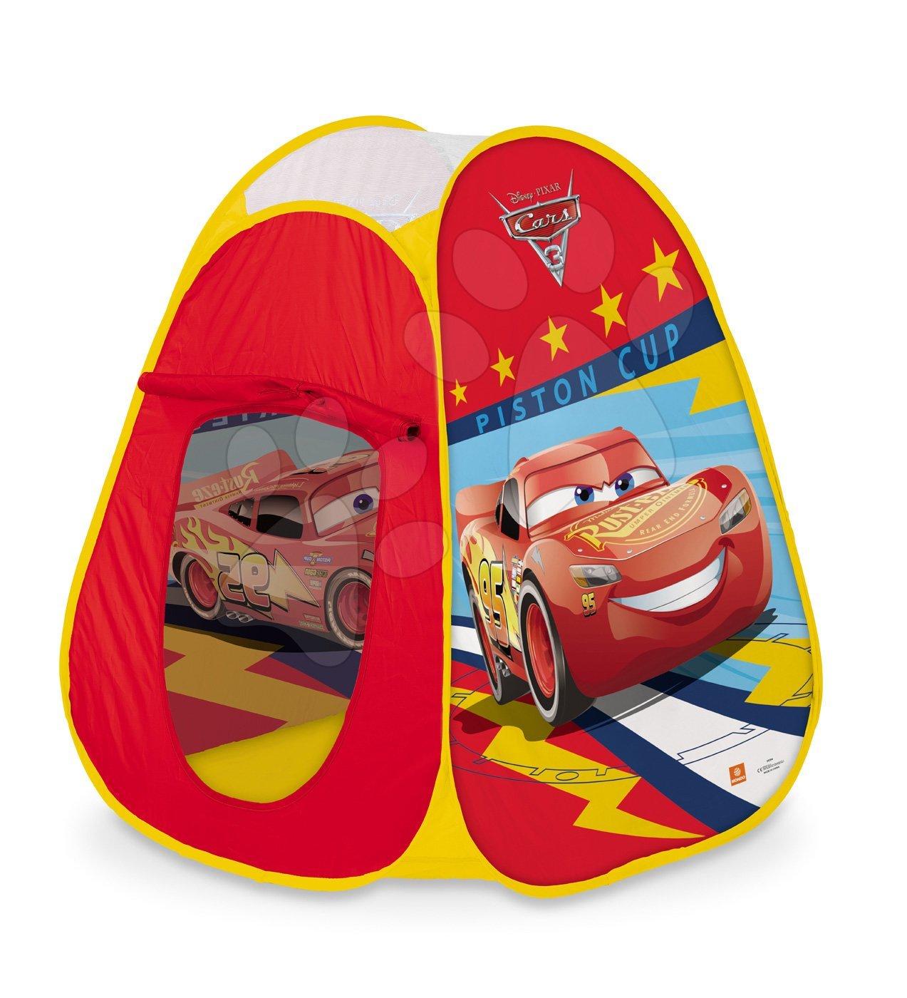 Mondo stan pre deti Cars Pop Up Mondo s okrúhlou taškou 28394
