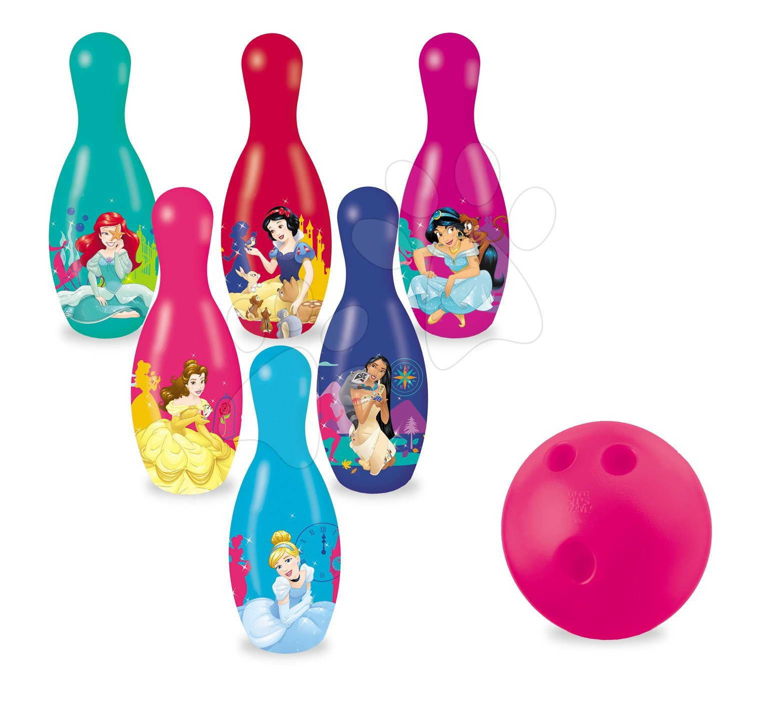 Popice Prinţesele Mondo (20 cm înălţime) cu 6 figurine
