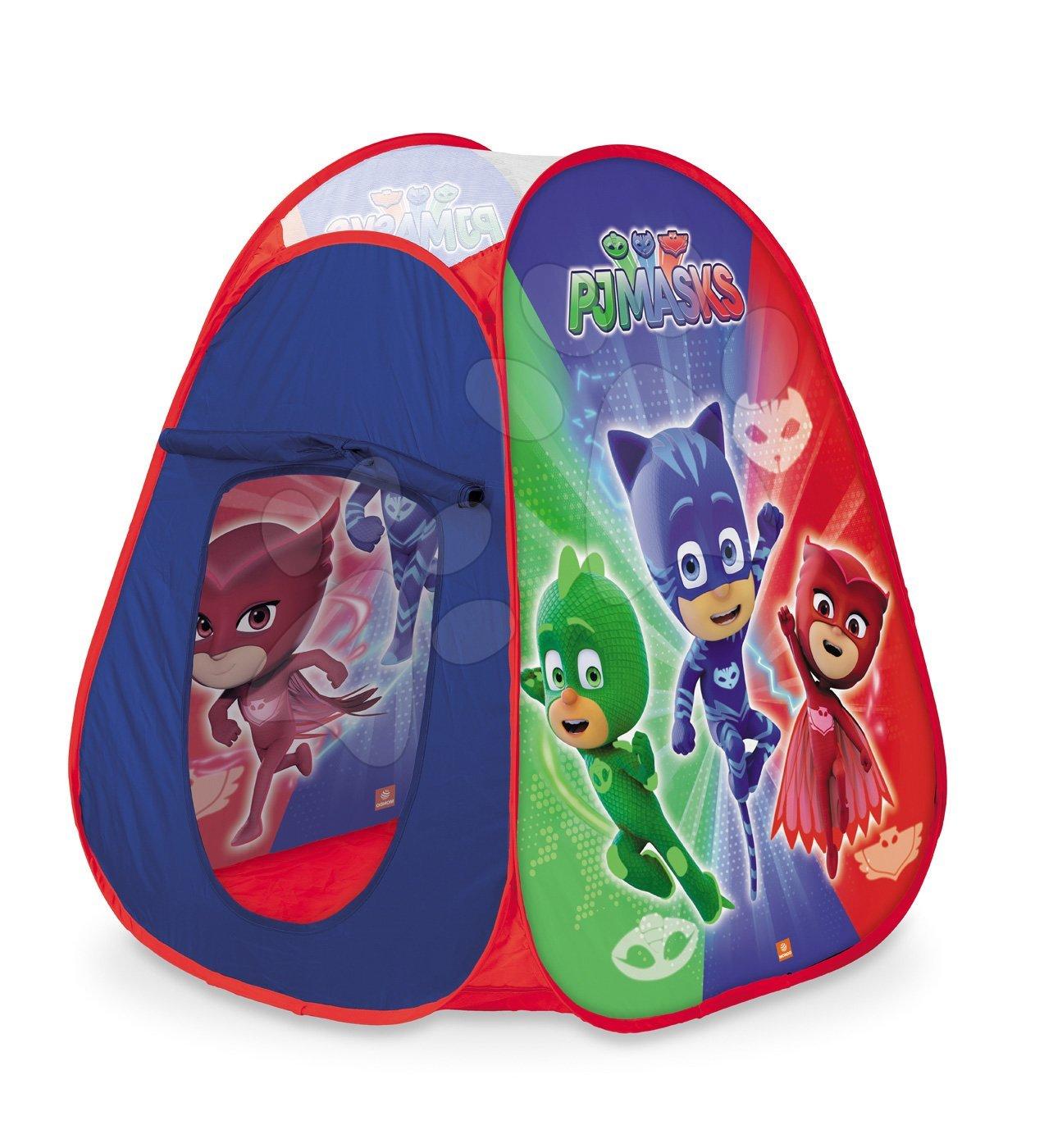 Šotor PJ Masks Pop Up Mondo z okroglo rdečo torbo