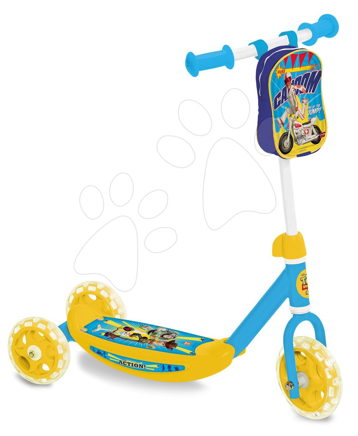 Kolobežka trojkolesová Toy Story Mondo s taštičkou