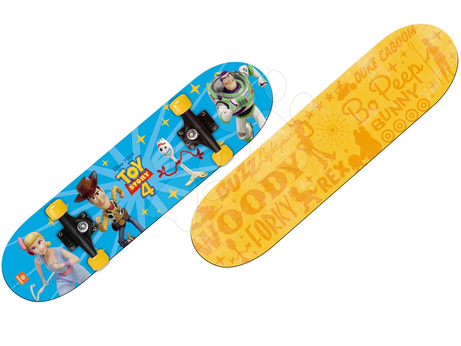 Skateboard Toy Story Mondo dĺžka 80 cm, obojstranná potlač