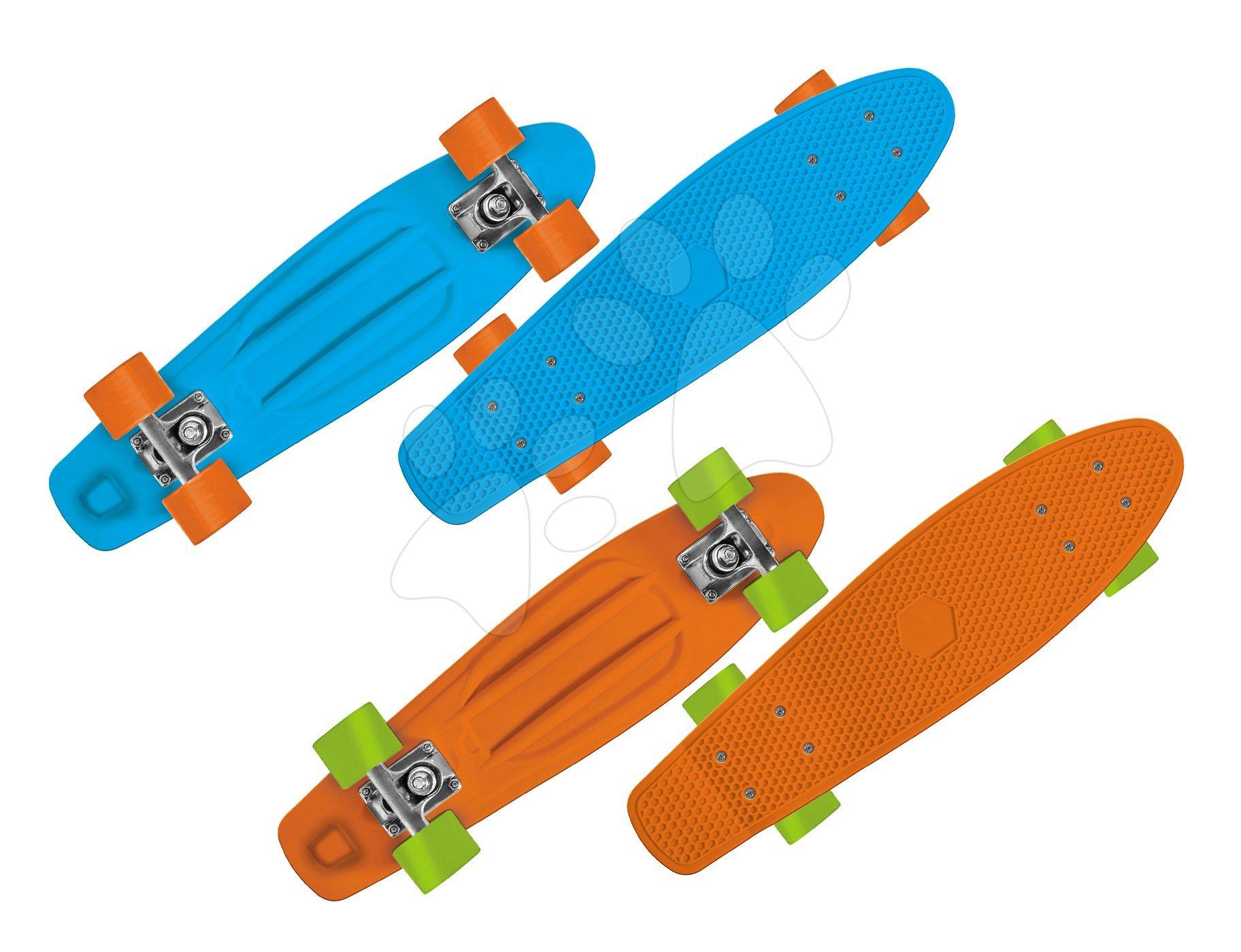 Skateboard Cruiser Mondo ABEC 7 modrý a oranžový