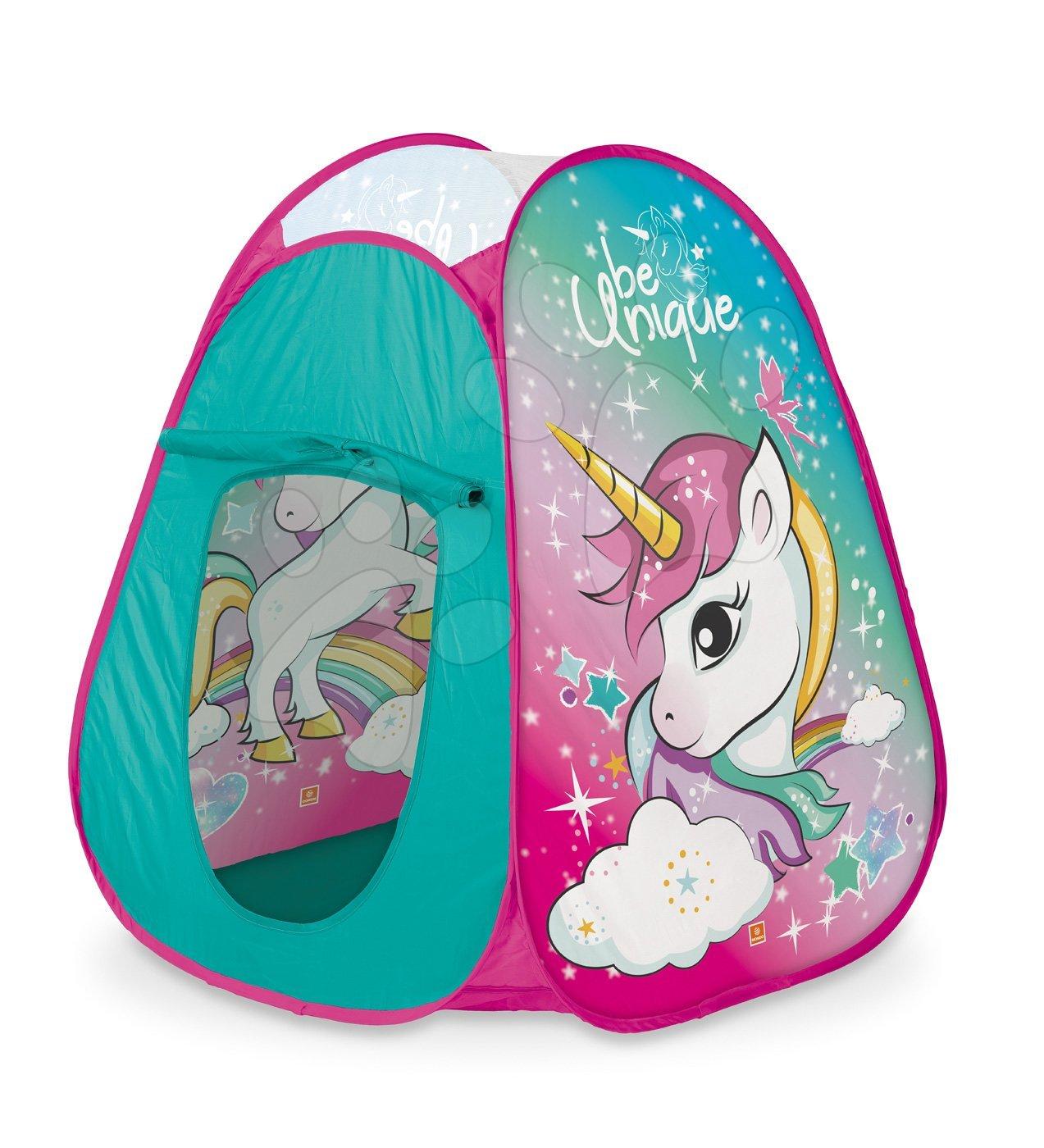 Stan pro děti Jednorožec Unicorn Pop Up Mondo s kulatou taškou tyrkysový
