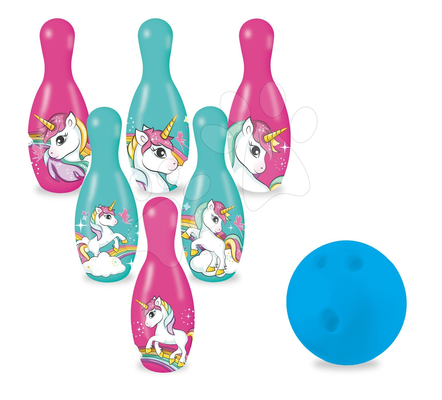 Popice pentru copii Unicorn Mondo 6 bucăți (de 20 cm)