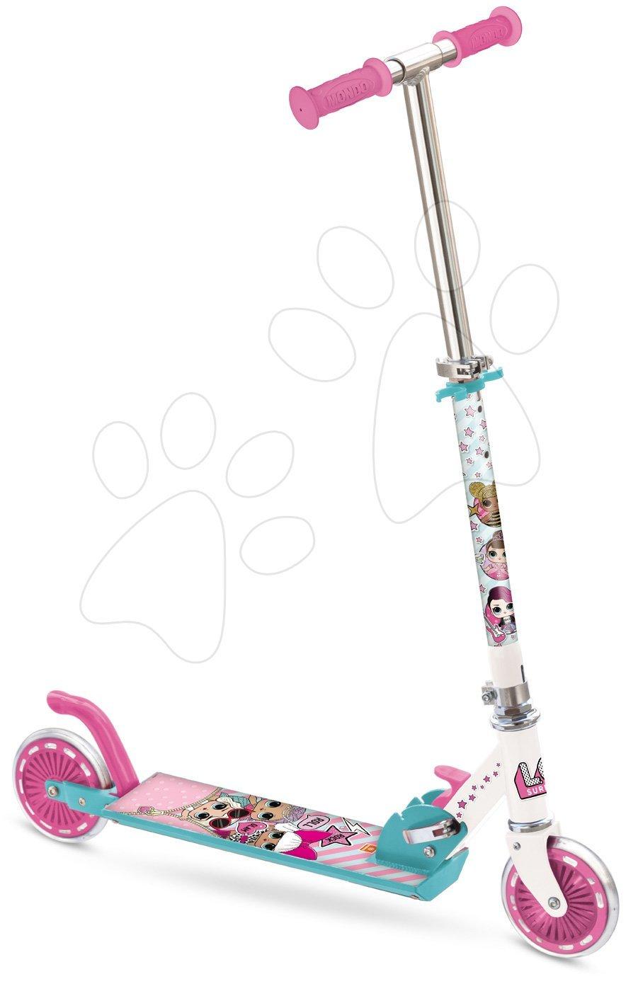 Kétkerekű roller L.O.L Mondo ABEC 5 rózsaszín