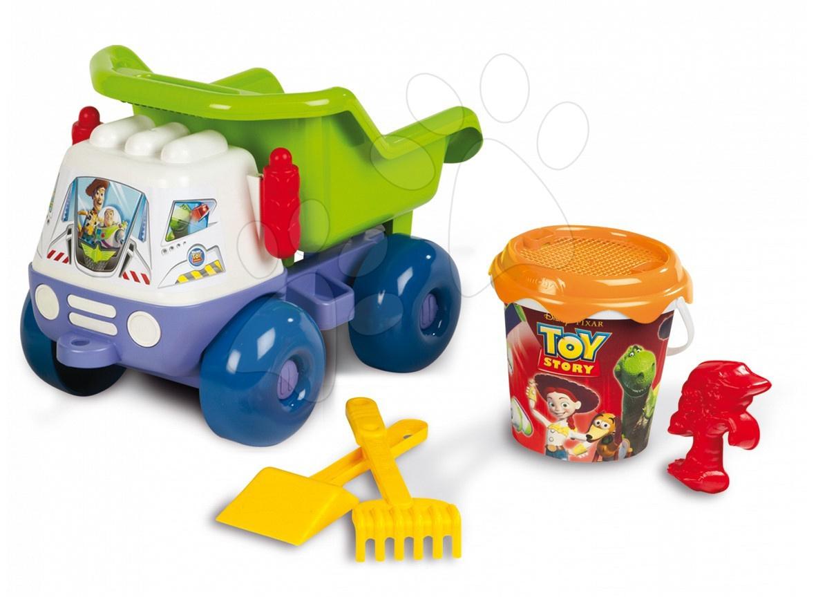 Vyklápěcí auto se setem do písku Toy Story