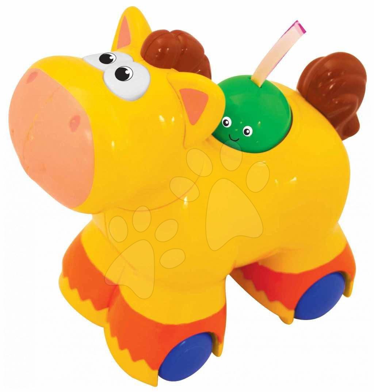 Staré položky - Cválající poník Activity Push N'Go Kiddieland se zvukem od 12 měsíců