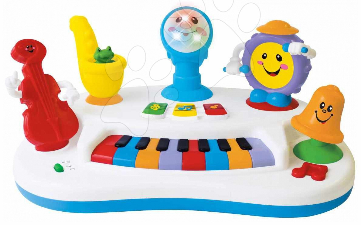 Staré položky - Activity band piano Kiddieland od 12 měsíců