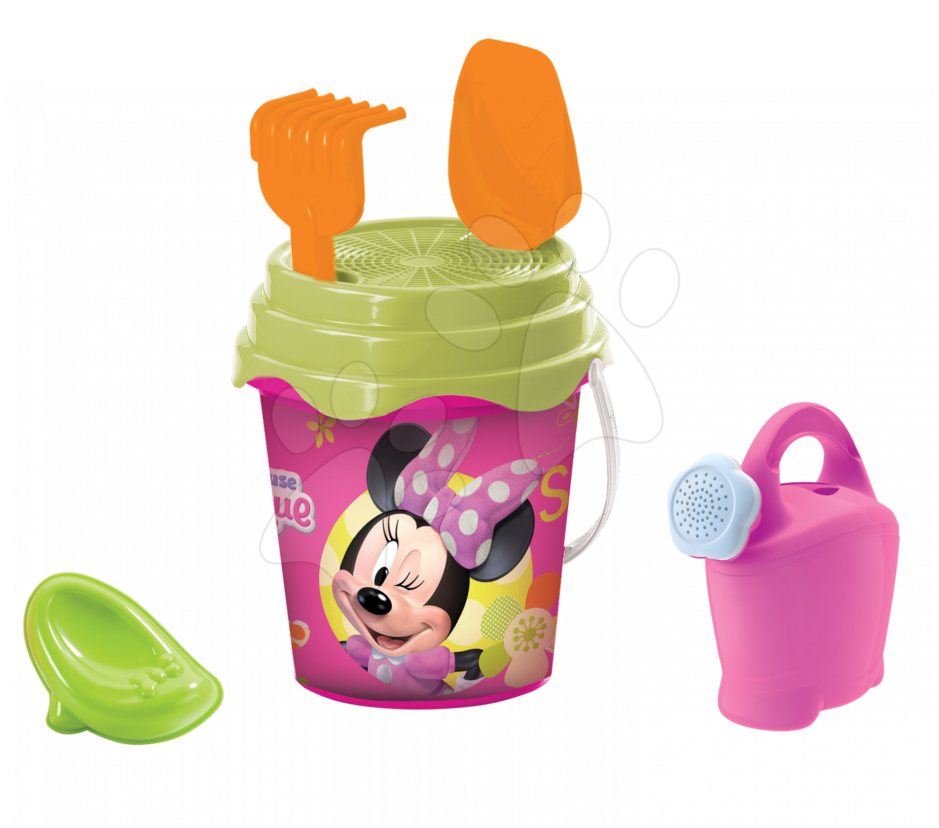 Vedro set s krhlou Minnie Mouse Mondo 5 ks, 19 cm