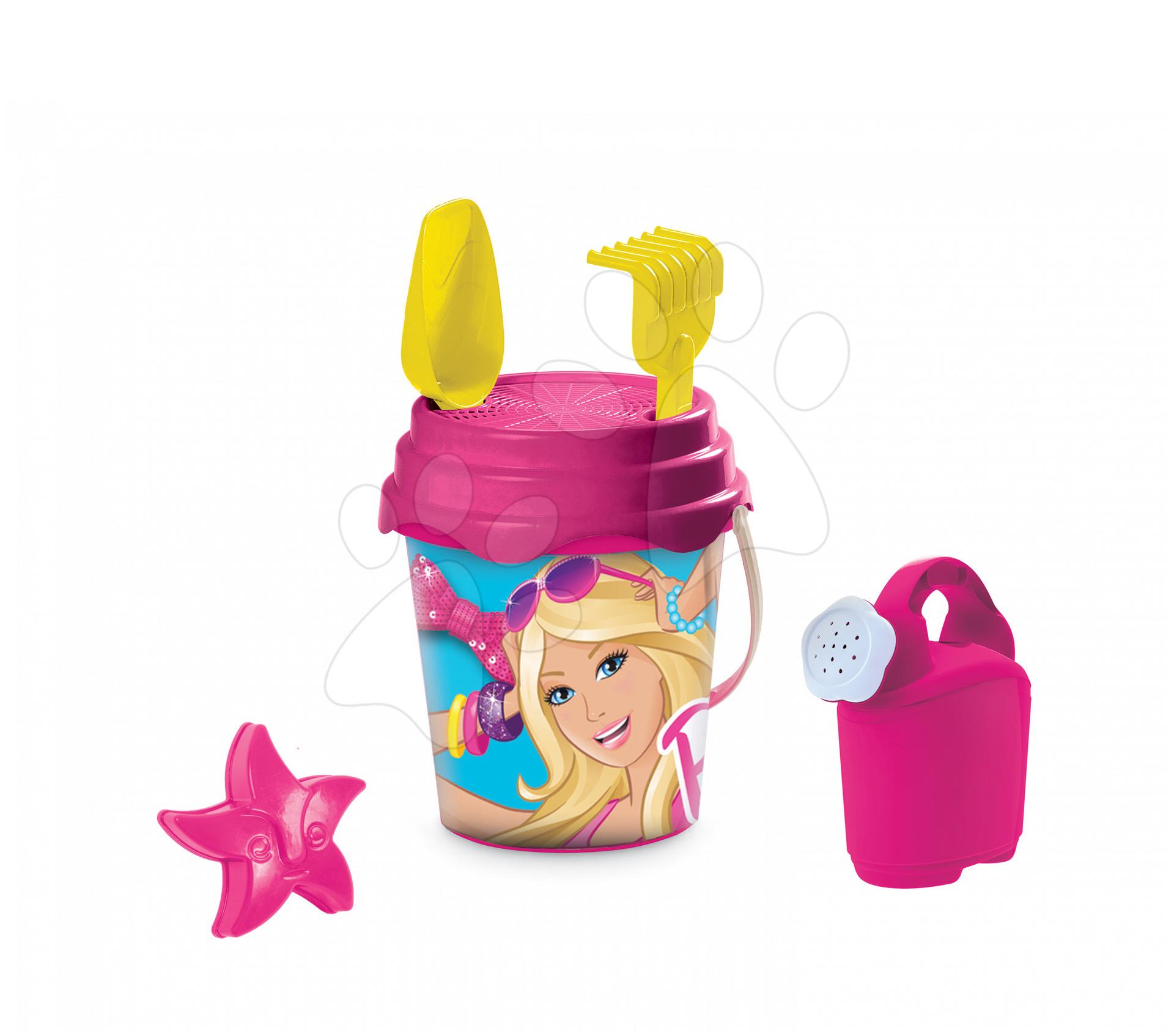 Staré položky - Vedro set s krhlou Barbie Mondo 7 ks, 19 cm
