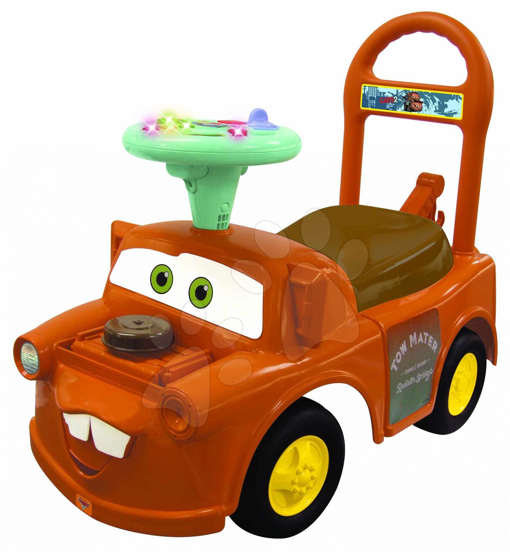 Odrážadlá so zvukom - Autíčko Cars 2 Mater ride on