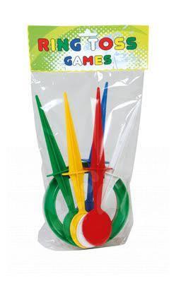 Športové hry pre najmenších - Kruhy na hádzanie Dohány do zeme