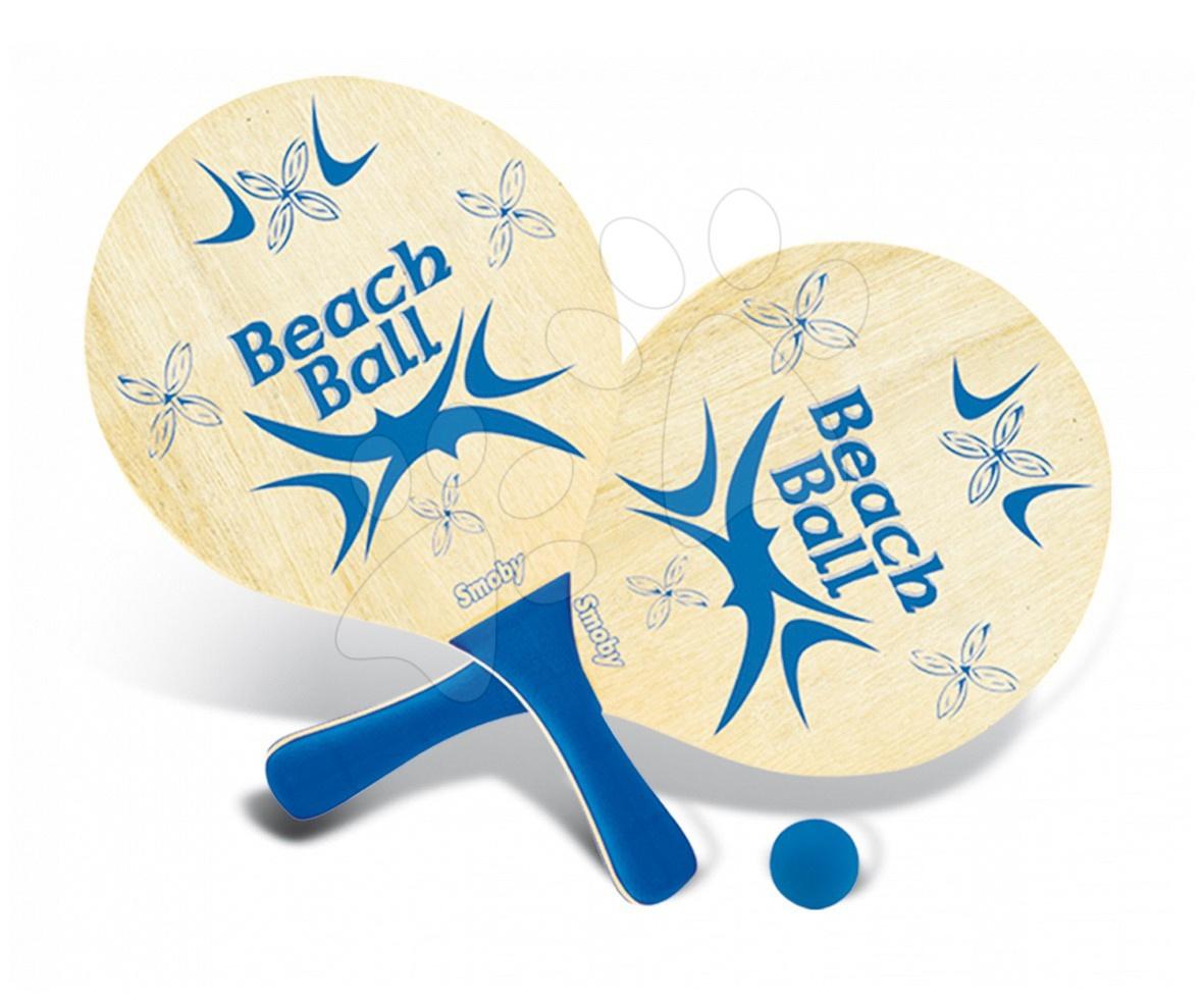 Plážový tenis Smoby s 2 raketami a loptičkou