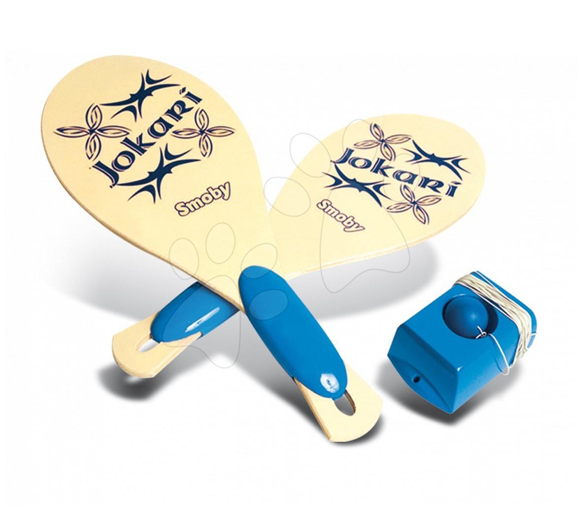 Tenis - Dřevěný tenis Jokari Smoby s příslušenstvím