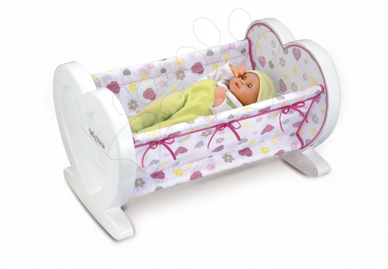 Régi termékek - Bölcső Baby Nurse Baba Smoby 42 cm-es babának 18 hó-tól