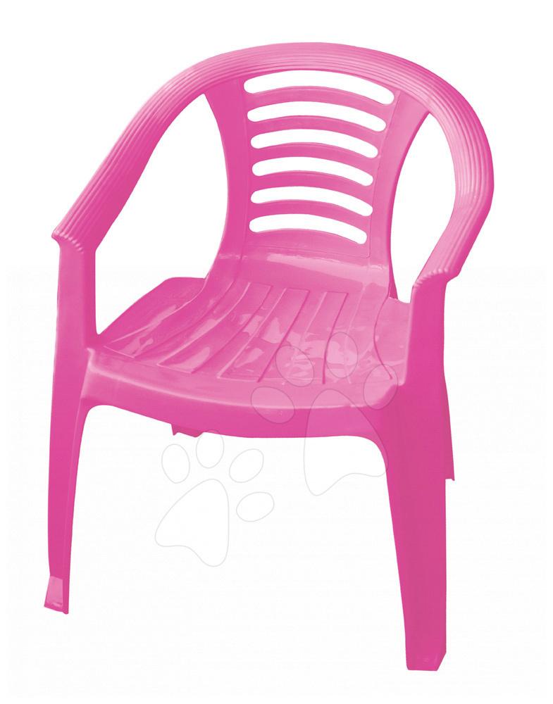 Stolička PalPlay ružová