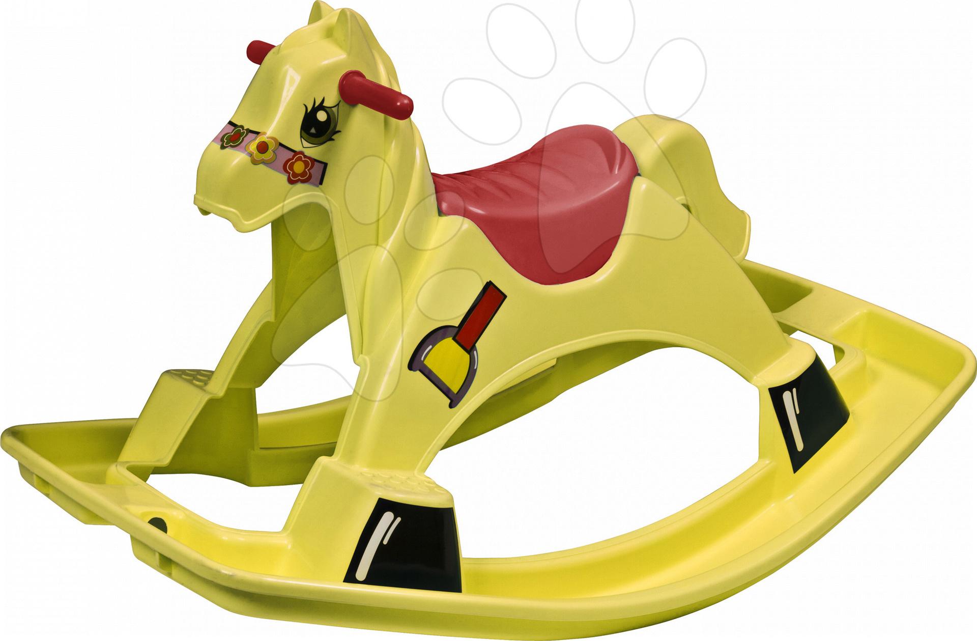 Houpací koník PalPlay žlutý