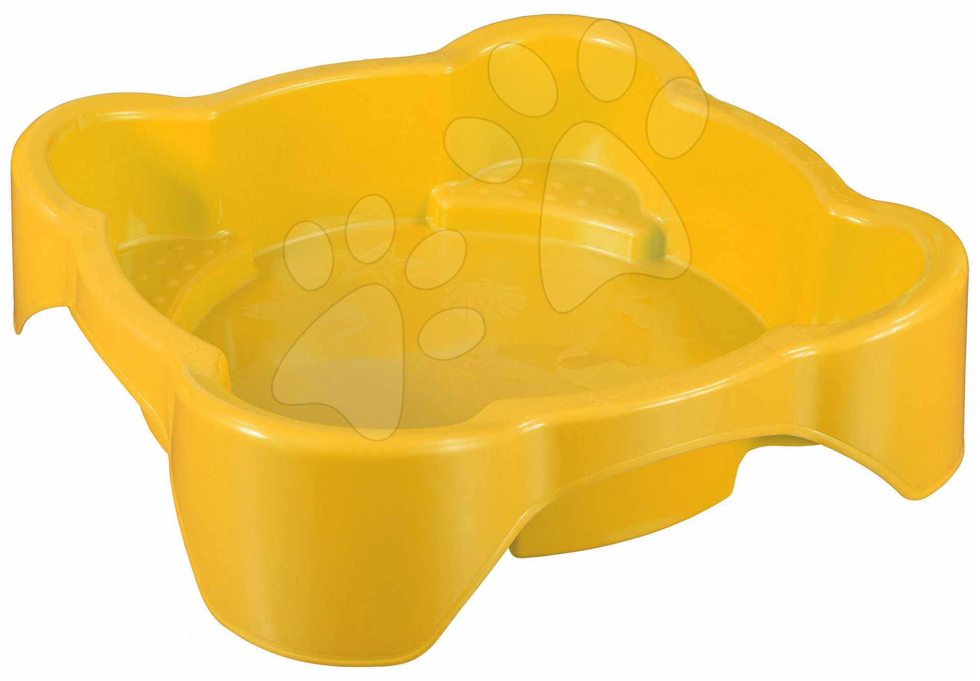 Pieskoviská pre deti - Pieskovisko Kvet PalPlay štvorec žlté od 24 mes