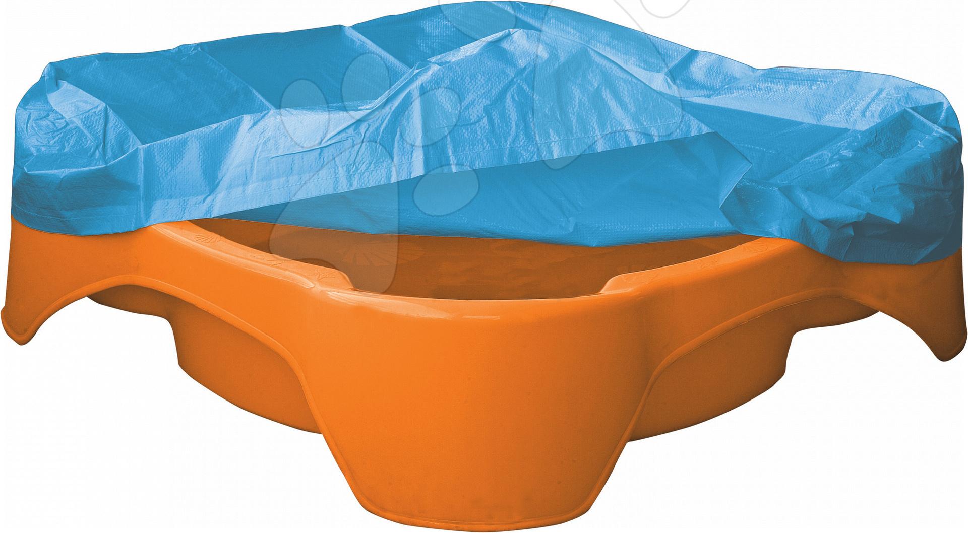 Pieskovisko Štvorec PalPlay s plachtou oranžové od 24 mes