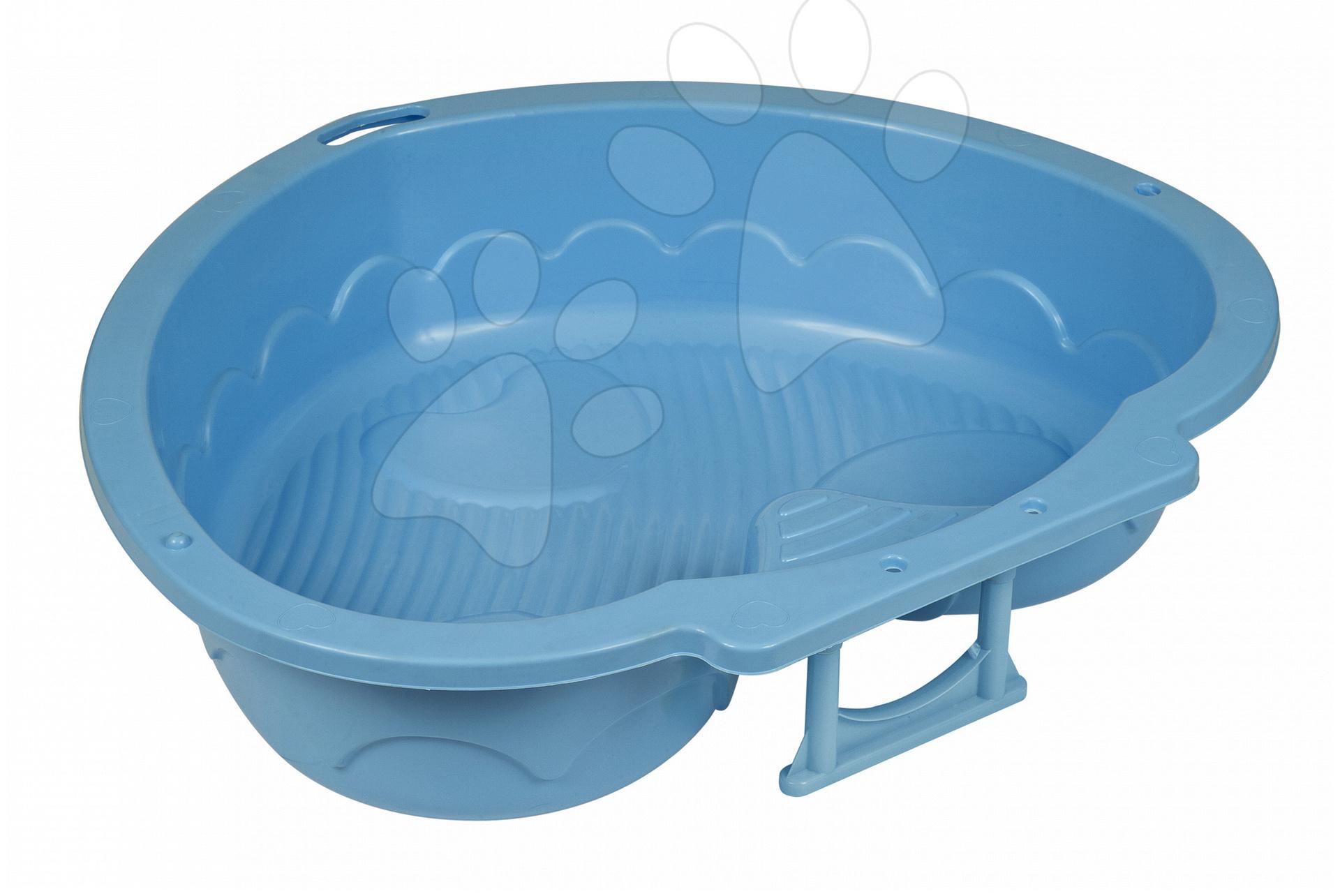 Pískoviště pro děti  - Pískoviště Trojlístek PalPlay modré od 24 měsíců