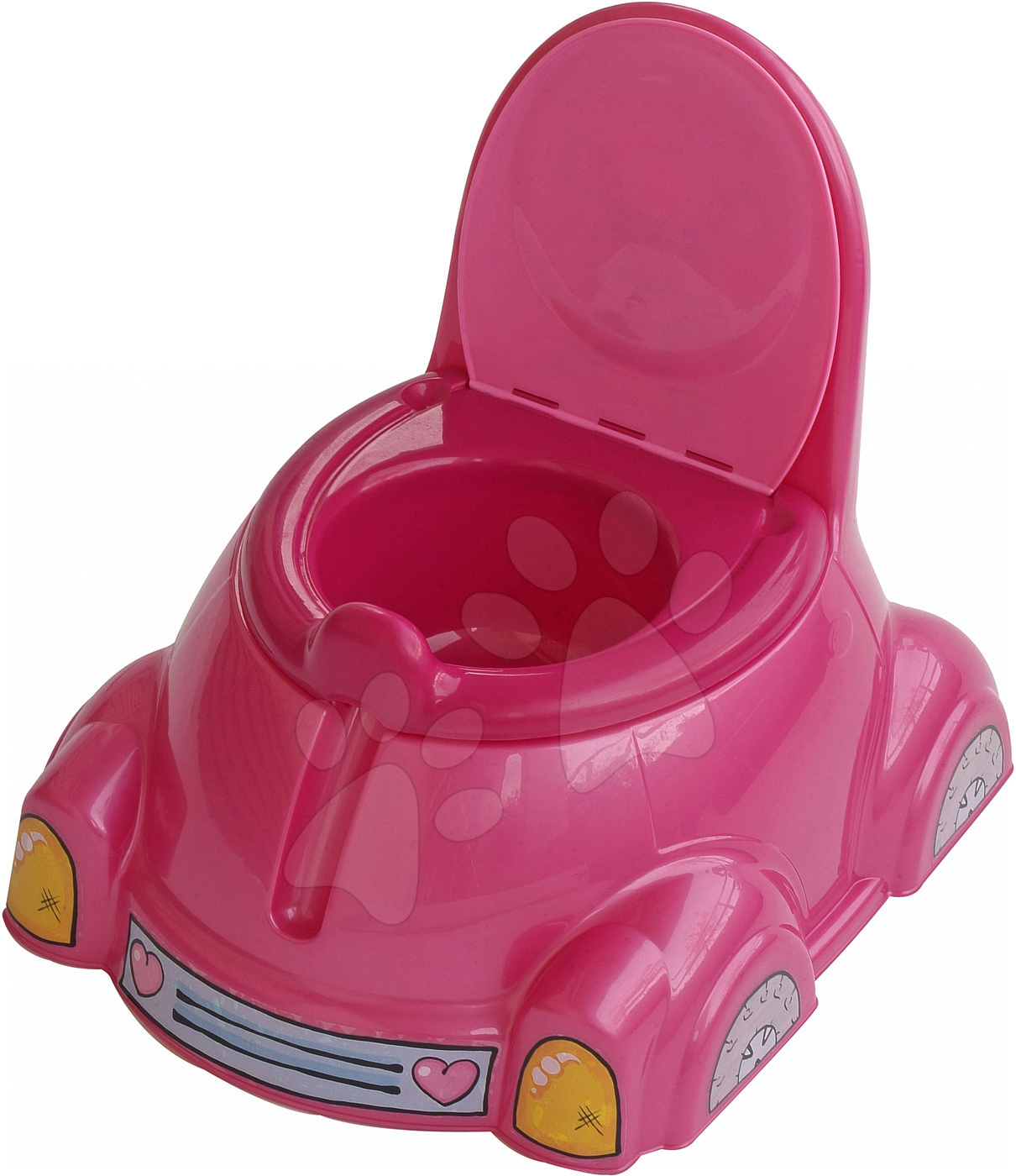 Nočníky a redukcie na toaletu - Nočník auto chrobáčik PalPlay ružový od 12 mes