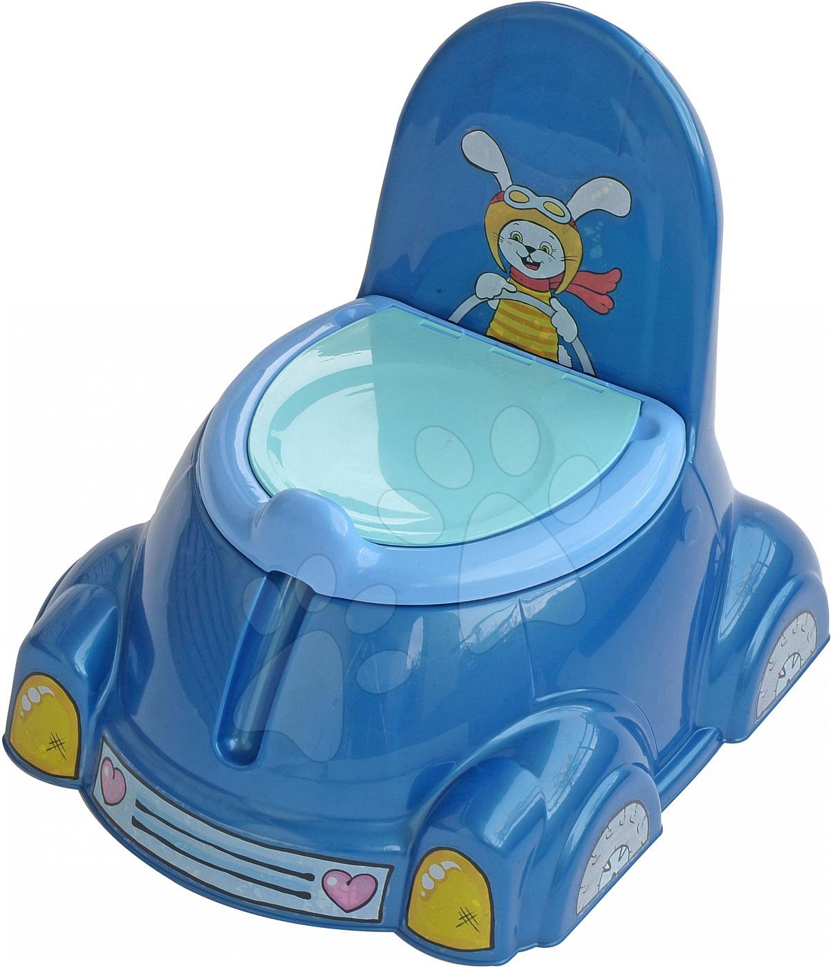 Nočníky a redukcie na toaletu - Nočník auto chrobáčik PalPlay modrý od 12 mes