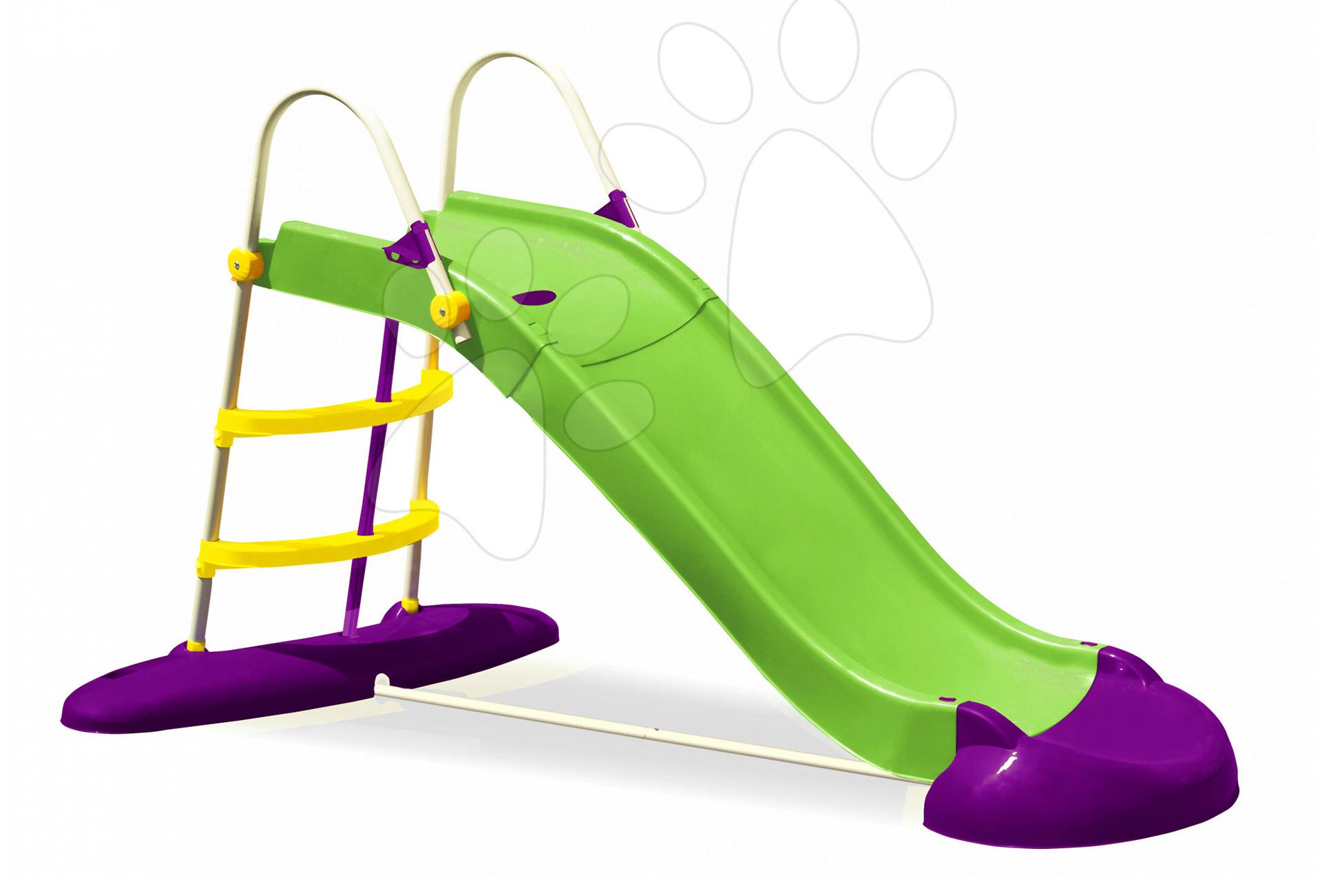 Skluzavka Fun Slide PalPlay 220 cm s vodu zeleno-fialová