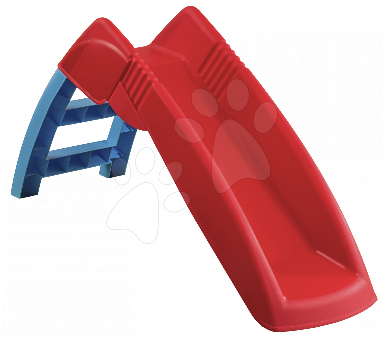 Šmykľavky pre deti  - Šmykľavka First PalPlay dĺžka 72 cm červeno-modrá od 24 mes