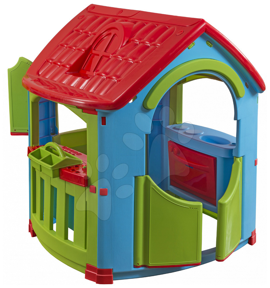 Hišice za otroke - Hobby hišica PalPlay 101*108*110,5 cm