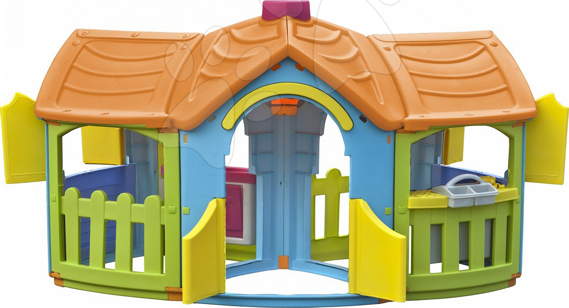 Domčeky pre deti - Domček Grand Villa PalPlay s kuchynkou